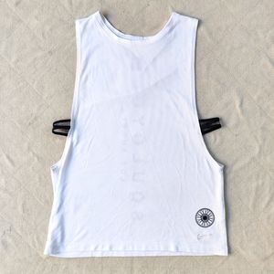 SoulCycle Nike Dri-Fit Mesh Side Athletic Tank Top